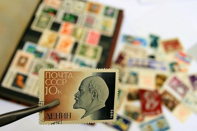 ruská známka