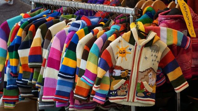 barevné bundy