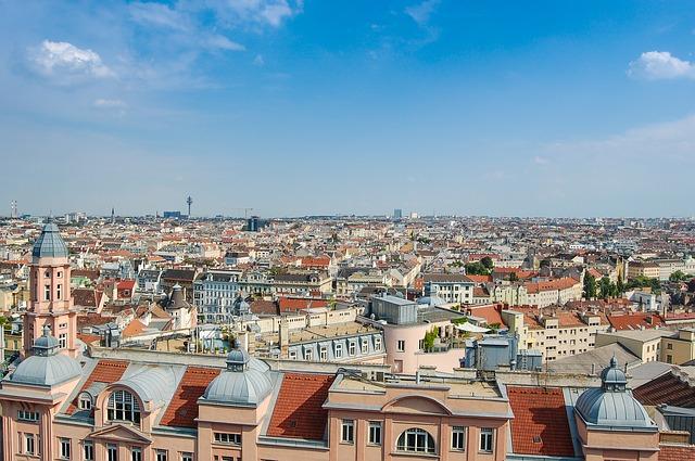 panorama vídně
